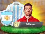 Football Master Xabi Alonso