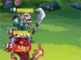 Fighting in Idle Heroes