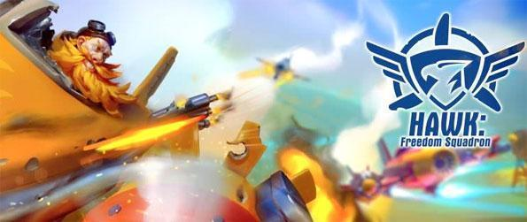 Hawk - Freedom Squadron - Play Hawk - Freedom Squadron and destroy the Autocrat's armadas in this arcade aerial shooter.