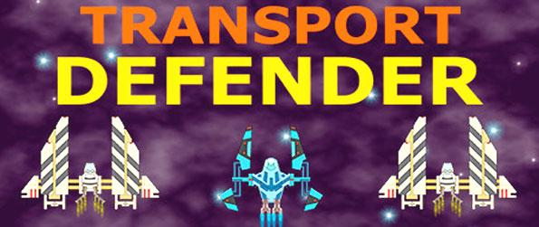 Transport Defender - An idle clicker in the tradition of Space Invaders and space arcade games.