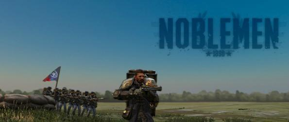 Noblemen: 1896 - Emerge as a steampunk warrior in Noblemen: 1896 and launch salvos of heavy machine gun fire on your foes.