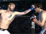EA Sports UFC throwing a punch