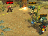 Using a mid-ranged weapon in Fighting enemies in Warhammer 40,000: Space Wolf