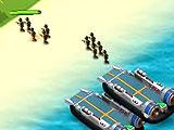 War of Beach - Deploying Your Forces