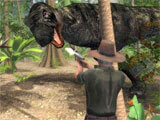 Shooting Dinosaurs in Dino Safari: Evolution