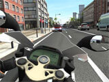 Driving in Racing Fever: Moto