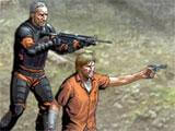 Walking Dead: Road to Survival fighting zombies