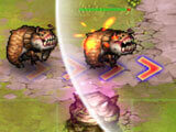 Gameplay in Tower Defense: Infinite War