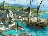 Going to a port in Ocean Legend