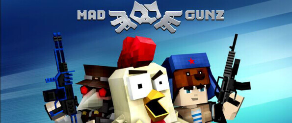 Mad GunZ - Get into the pixelated world of Mad GunZ and fight with or against other players.