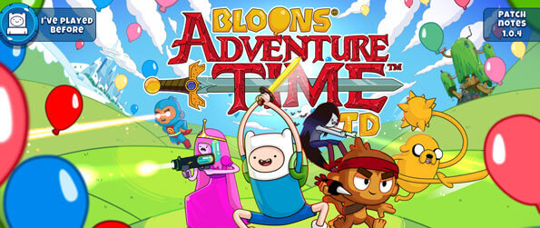 Bloons Adventure Time TD - Pop Bloons as your favorite characters from Adventure Time and the Monkeys from Bloons TD.