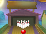 A strike! in Bowling