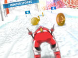 Slalom Hero: Collecting coins