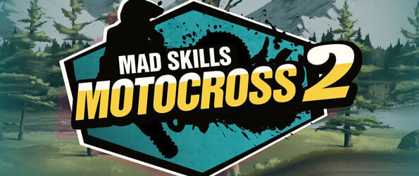 Mad Skills Motocross 2 - Enjoy extreme motorcycle responsiveness in action-packed Motocross races.