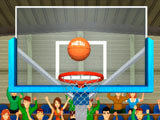 Shoot the hoop in 3D Basketball