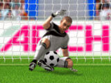 3D Penalty Kick: Ball blocked by goalie