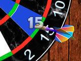 3D Darts: Slow-mo