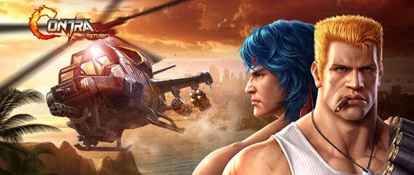Garena Contra: Return - Shoot through familiar enemies in action-packed adrenaline-inducing stages in Garena Contra: Return!