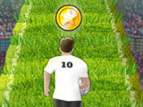 Collect coins in Euro Soccer Sprint