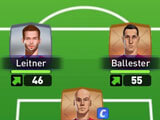 Perfect Soccer: Team formation
