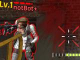 BlackShot M Gears: Shooting at the enemy