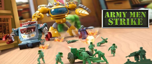Army Men Strike - Enjoy this delightful strategy game that's quite unlike the rest.