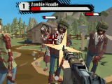 Taking Out Zombie Horde in The Walking Zombie 2