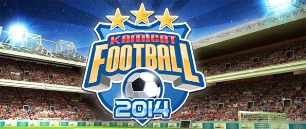 Kamicat Football - Enjoy a fantastic football game where you can play live and be the manager.