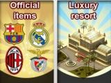 Buy items and buildings in Sports City