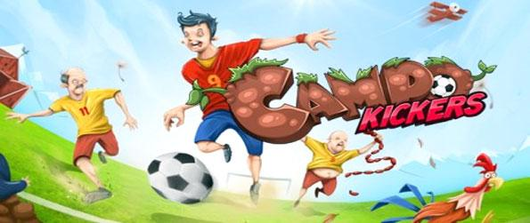 Campo Kickers - Enjoy a brilliant new football game with a twist as you take on all comes with your local country team.