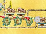 Pyramid Tower Defense Enemy Wave Encounter