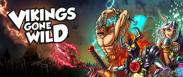 Vikings Gone Wild - Survive a medieval age where your viking village tries to overwhelm the undead forces in this wonderful strategy game in Facebook.