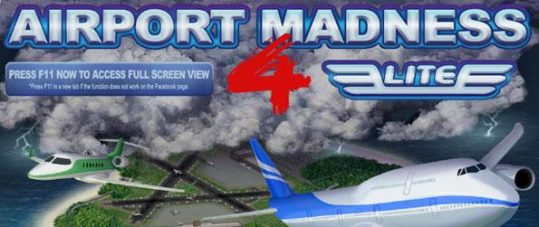 Airport Madness 4 - Assess planes arriving from all directions, and more that want to depart to keep passengers happy in this airport traffic simulation game in  Facebook.