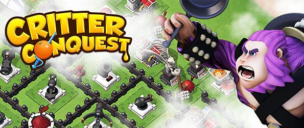 Critter Conquest - You are the ruler of a Critter Kingdom and tasked to build the mightiest kingdom in the land in this online strategy game in Facebook.