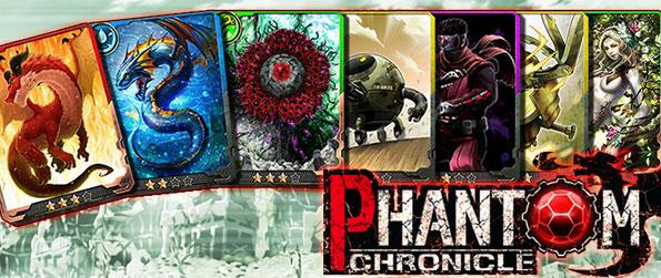 Phantom Chronicle - Various phantoms are waiting for you in a wasteland for you to claim or destroy in this Trading Card Game in Facebook.