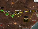 Dead Trigger 2 Campaign Map