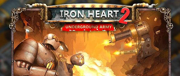 Iron Heart 2: Underground Army - Put an end to the iron army's campaign and obliterate their forces in this frantic tower defense sequel!