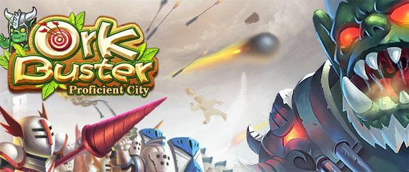 Ork Buster - Defend the Forbidden Lands from the invasion of the Orks in this exciting tower defense-MMO game, Ork Buster!