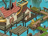 Pirate Level map in Plants Vs Zombies 2