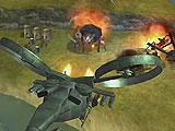Setting the Ground Ablaze in Gunship Battle: Helicopter 3D