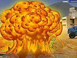 Exploding Tanker in Warzone Getaway