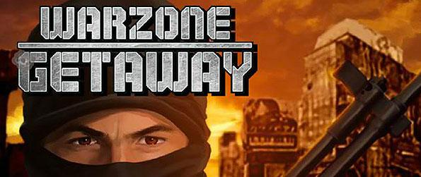 Warzone Getaway - You have successfully infiltrated the enemy's military base and stolen their top secret documents! Can you escape the warzone in one piece?