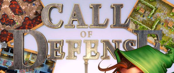Call of Defense TD - Defend your fortress or attack the opposition and play with friends or against enemies to conquer all the maps and be the best line of defense from intruders!