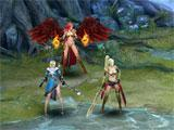 League of Angels 2 wrecking foes