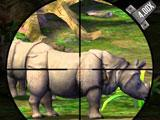 Rhino in the forests of Java in Deer Hunter 2014