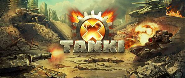 Tanki X - Customize every part of your tank to build a tank that fits your playstyle and enjoy playing in the game's many breathtaking maps and exciting game modes in Tanki X!