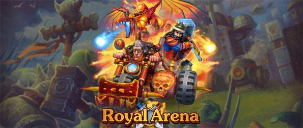 Royal Arena - Fight your opponent in a strategic battle using cards in Royal Arena.