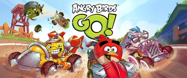 Angry Birds Go! - Race on exciting tracks against the toughest of birds in Angry Birds Go!