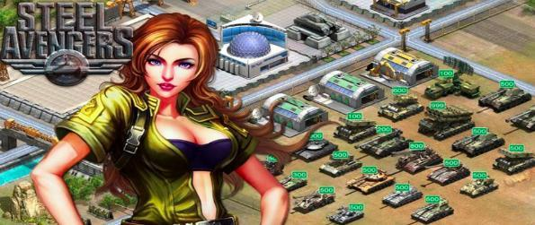 Steel Avengers - Global Tank War - Build your own tank army, strengthen each steel behemoth, power up your base, and fight for global supremacy!