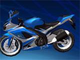 Deadly Moto Racing Basic Bike